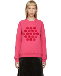 Mary Katrantzou Pink Hexagon Sweatshirt