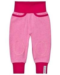 Geggamoja Pink Melange Pants