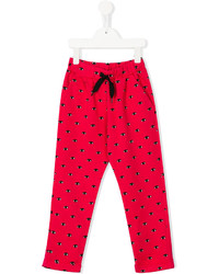 Kenzo Kids Eye Print Trousers