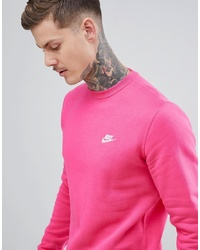 Club Swoosh Sweatshirt In Pink 804340 674