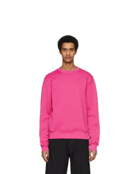 Acne Studios Pink Fisher Tech Sweatshirt