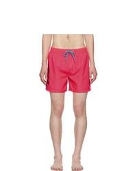Diesel Pink Wave Swim Shorts