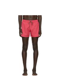 Ps By Paul Smith Pink Zebra Swim Shorts