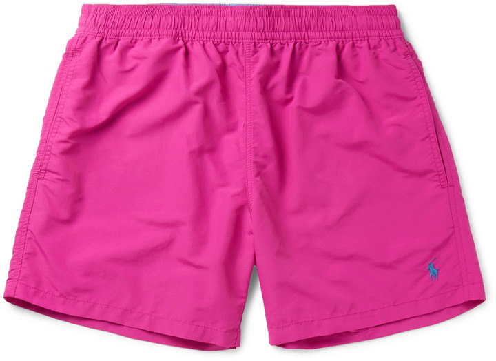 11d353595e Polo Ralph Lauren Slim Fit Mid Length Swim Shorts, $60 | MR PORTER ...