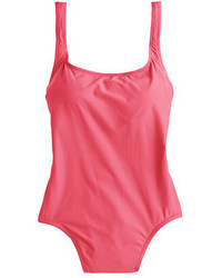 1989 scoopback one piece swimsuit medium 675364