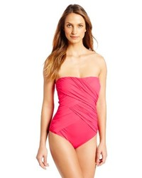 Gottex Lattice One Piece Bandeau