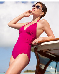 73e1c90e47f47 Women's Hot Pink Swimsuits from Macy's | Women's Fashion | Lookastic.com