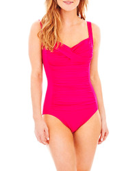 jcpenney Trimshaper Avery Control Tank 1 Piece Swimsuit
