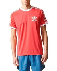Men's Hot Pink T-shirts by adidas | Men's Fashion