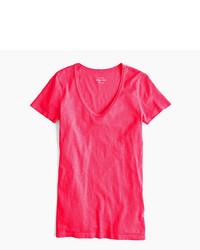 J.Crew Vintage Cotton Scoopneck T Shirt