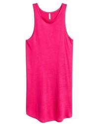 Hot Pink Tank Dress
