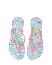 Lilly Pulitzer Print Flip Flop
