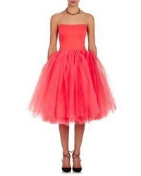 Hot Pink Tulle Party Dress