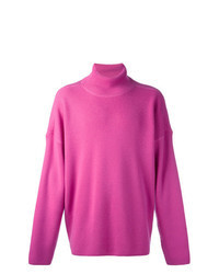 Hot Pink Turtleneck