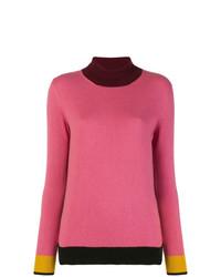 Etro Colourblock Turtleneck Sweater