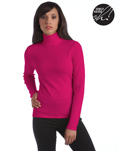 Lord & Taylor Fall Soft Collection Cashmere Turtleneck Sweater ...