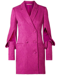 Hot Pink Tuxedo Dress