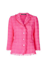 Hot Pink Tweed Jacket