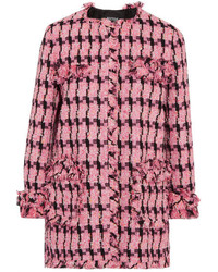 Moschino Boutique Tweed Jacket Fuchsia
