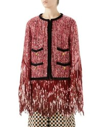 Gucci Sequin Tweed Jacket