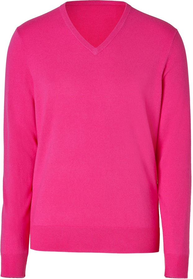 Polo Ralph Lauren Cashmere Pullover In Ultra Pink | Where to buy ...