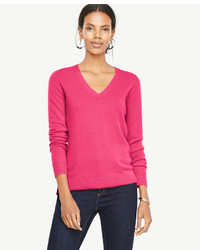 e2a129c59c36 Women s V-neck Sweaters by Ann Taylor