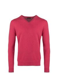 Altea Fine Knit V Neck Sweater