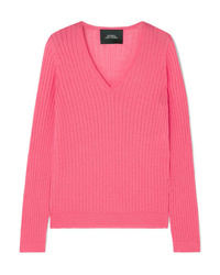 Marc Jacobs Ribbed Wool Blend Sweater