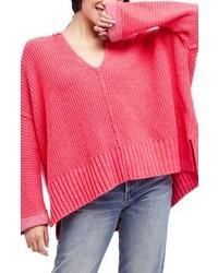 Take over me v neck sweater medium 5169917