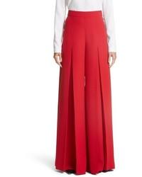 Crepe cady wide leg pants medium 5361288