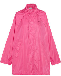 Balenciaga Hooded Shell Windbreaker Jacket Pink