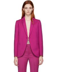 Ports 1961 Pink Wool Tuxedo Blazer