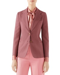 Gucci Two Button Wool Jacket