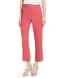 1 STATE Crepe Kick Flare Ankle Pants