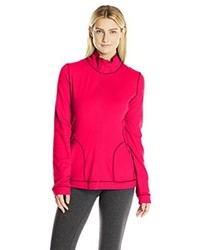 Hot Pink Zip Sweater