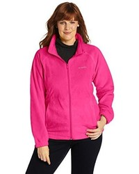 Columbia Plus Size Benton Springs Full Zip Fleece Jacket