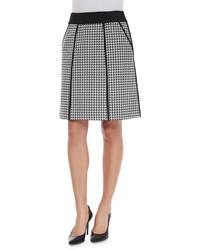 Houndstooth a line skirt original 9518501