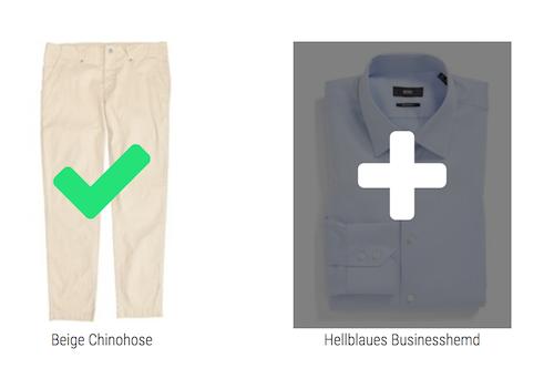 1. Fügen Sie Ihre Kleidung der Lookastic Garderobe hinzu.
