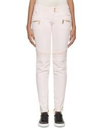 Jean skinny blanc Balmain