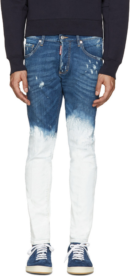 Jean skinny blanc DSQUARED2  Où acheter et comment porter 0f7cd5767477
