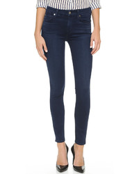Jean skinny bleu marine 7 For All Mankind