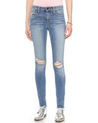 Jean skinny déchiré bleu Joe's Jeans