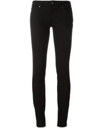Jean skinny en coton noir Burberry