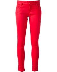 Jean skinny rouge Love Moschino