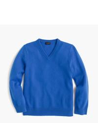 Jersey azul de J.Crew