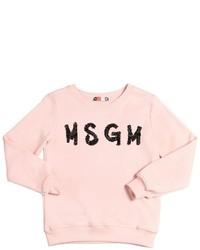Jersey con adornos rosado de MSGM