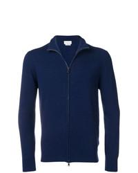 Jersey con cremallera azul marino de Ballantyne