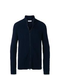 Jersey con cremallera azul marino de Etro