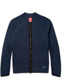 Jersey con cremallera de punto azul marino de Nike