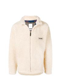 Jersey con cremallera en beige de Napa By Martine Rose
